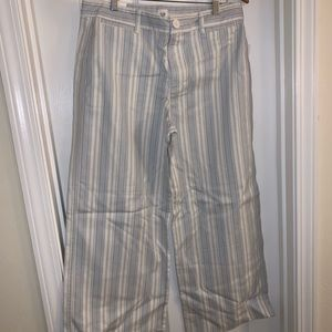 GAP Striped Wide Cut Trousers